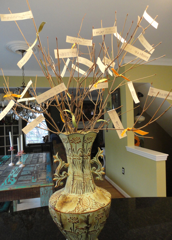 Thanksgiving Tree Of Gratitude Creative Gift Ideas