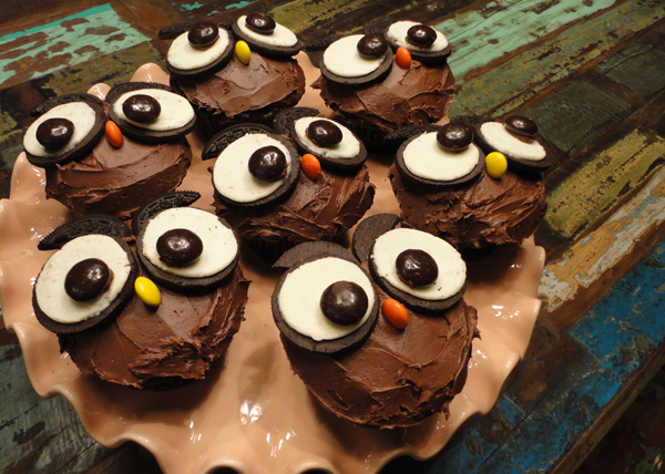 owl cupcakes creative gift ideas news at catching fireflies