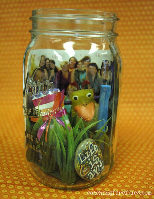 how to make a memory jar gift