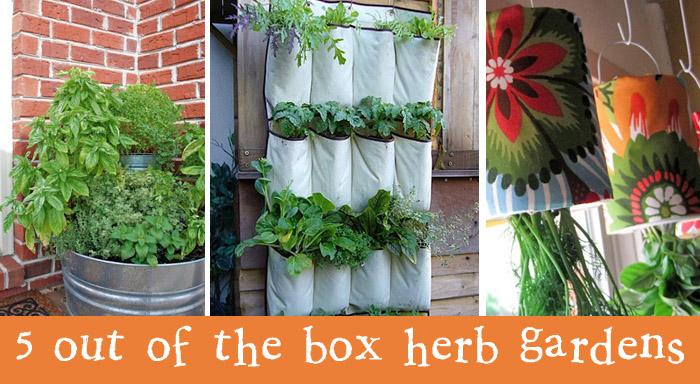 5 fantastic herb garden ideas | creative gift ideas & news at ...