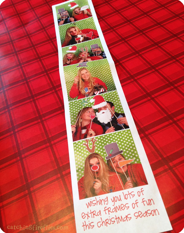 photo prop christmas card