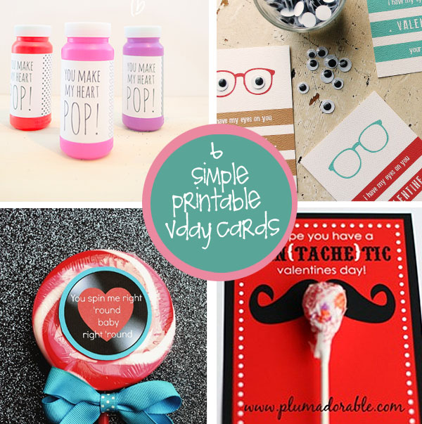 Free Printable Valentine Cards That Are Super Cute – Cute Valentine Cards Homemade