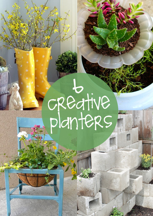 6 Creative Planters | creative gift ideas & news at catching fireflies