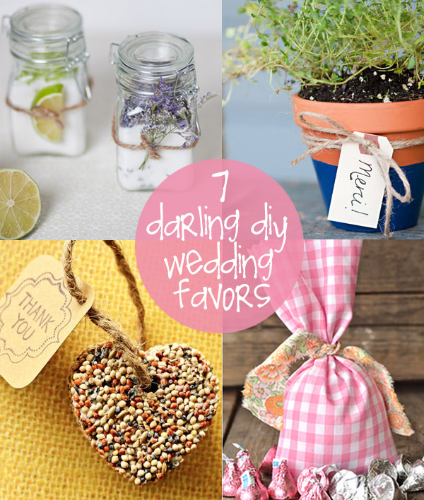 Cheap Diy Wedding Favors