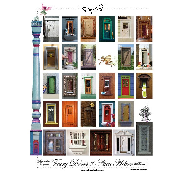 Fairy Door Ideas fairy door tooth fairy door fairy garden gnome door little fairy door Fairy Door Poster