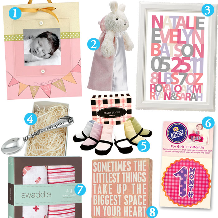 Cute baby shower gift ideas for girls and boys creative gift unique baby girl gifts negle Images