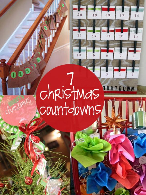 Marvelous Christmas Countdown Gift Ideas Part - 3: Diy Xmas Countdown Craft