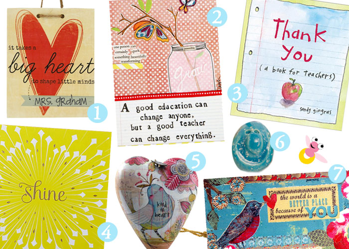 Teacher creative gift ideas images for Sentimental gift ideas