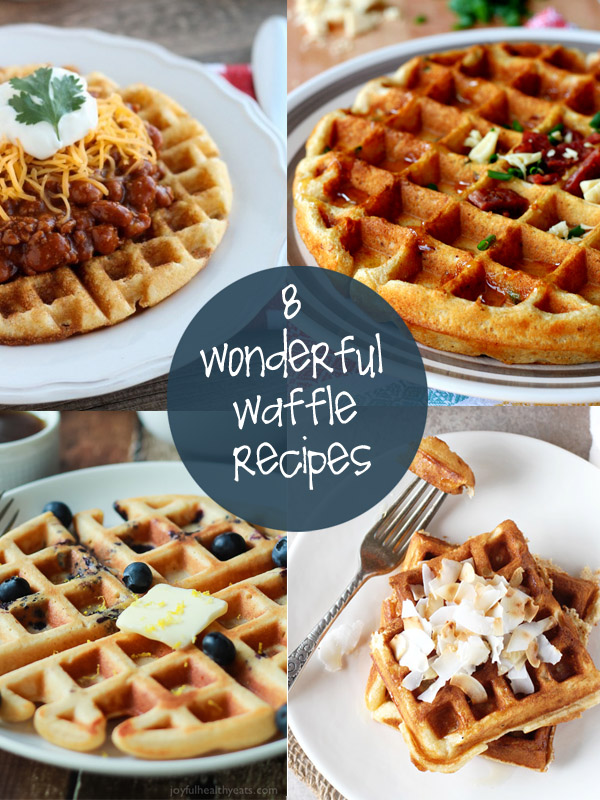Waffle bars aren't just for breakfast (though they're great for that). They also make awesome family dinners and serve as the perfect party buffet.