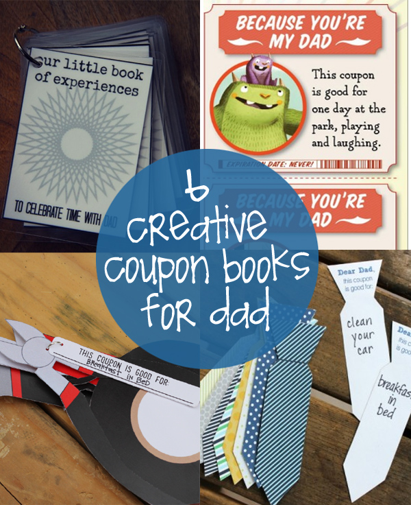 Gift coupon ideas for dad