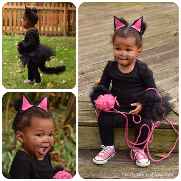 diy cat halloween costume  sc 1 st  catching fireflies blog & DIY kitten costume for toddler | creative gift ideas u0026 news at ...