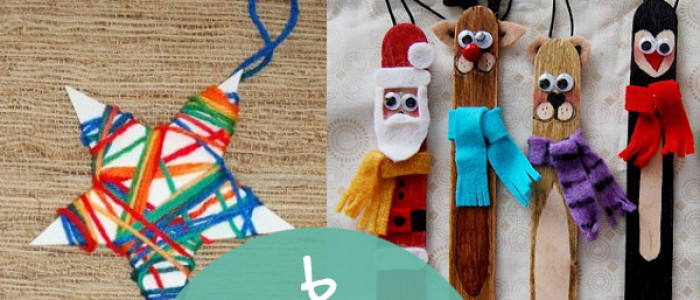 6 crafty Christmas projects for the kids