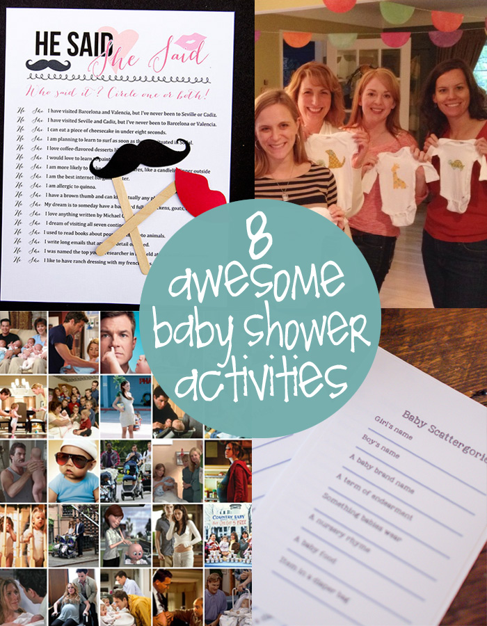 A Bundle Of Fresh Fun Baby Shower Games Creative Gift Ideas