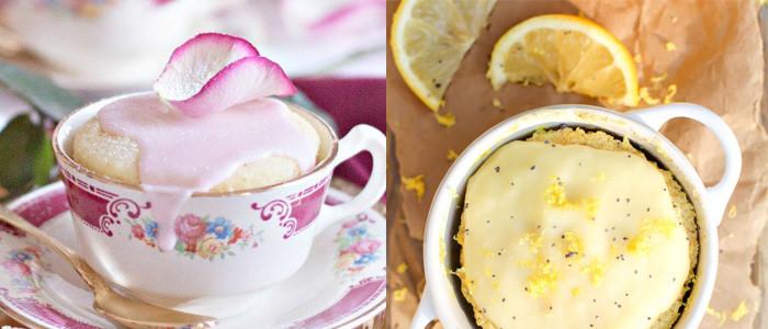 got a minute? make a mug cake!