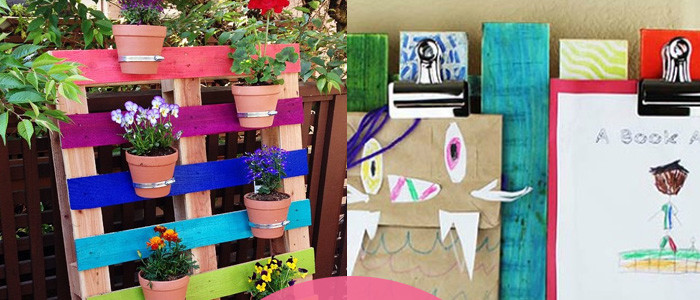 8 imaginative ways to recycle a wood pallet