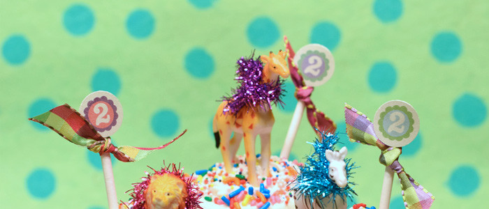 party animal cupcakes