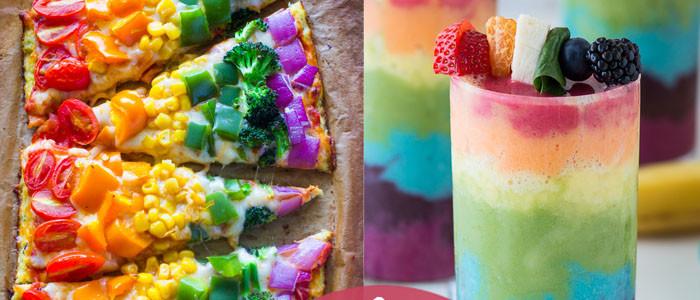 8 razzle-dazzle rainbow recipes