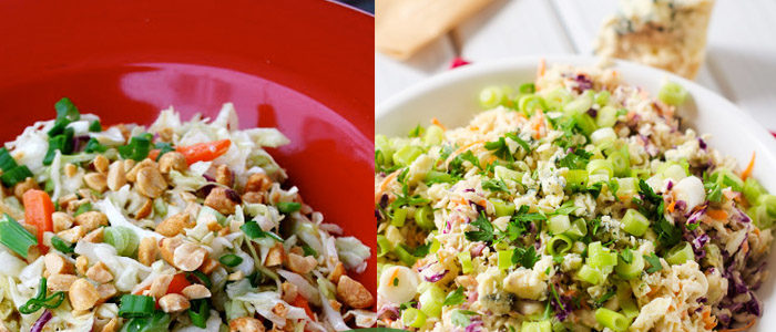 8 cool & creamy coleslaw recipes