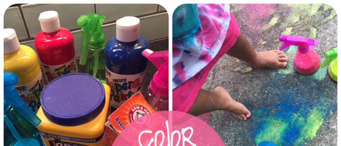 color play spray chalk