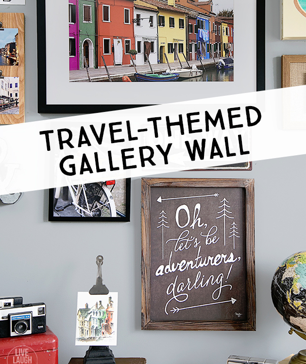 Dress up your digs with a gorgeous gallery wall creative for Travel gallery wall ideas
