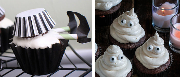7 sweet and spooky cupcakes for halloween