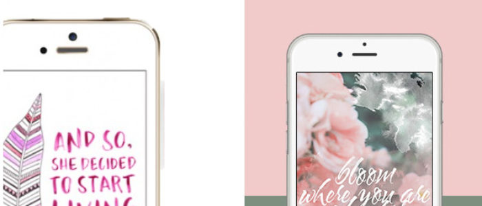freshen up your phone with an amazing new and FREE wallpaper