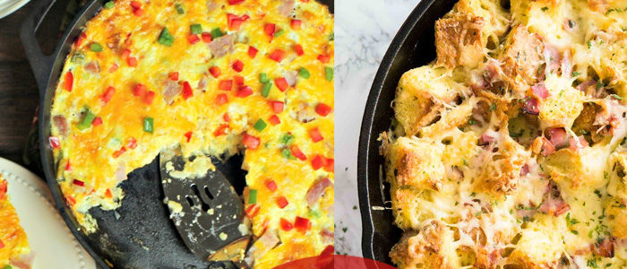 start your morning off right with a savory breakfast bake