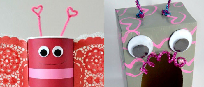 7 delightful DIY valentine mailboxes for the kiddos