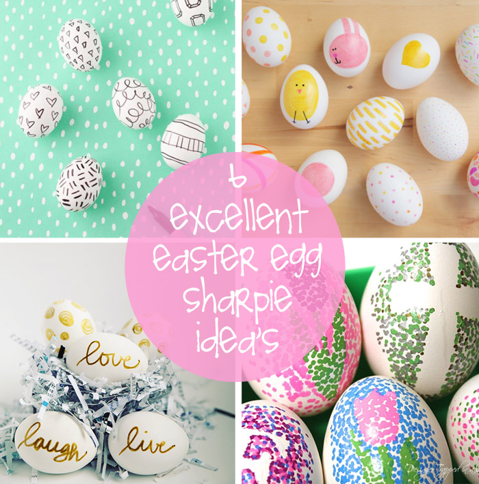 Whimsical ways to decorate your easter eggs creative gift ideas what a fun way to decorate easter eggs with a sharpie marker there are bold to thin tips in sharpies nowadays and you can easily use the variety of negle