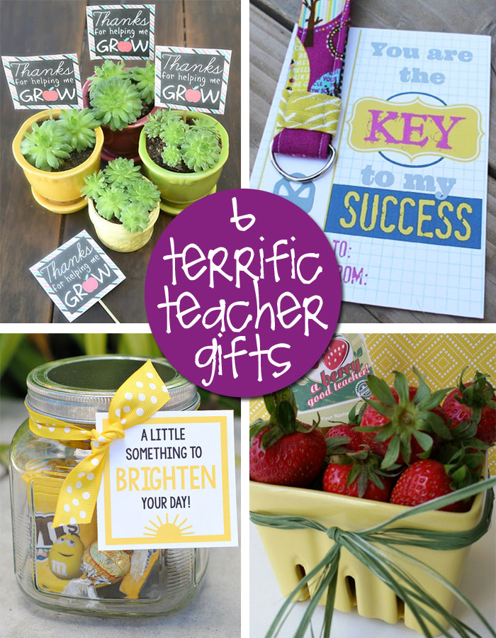 Easy Diy Printables For Teacher Gifts Creative Gift Ideas News
