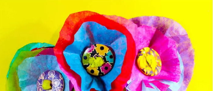 Make Pretty Paper Flowers for Mother's Day