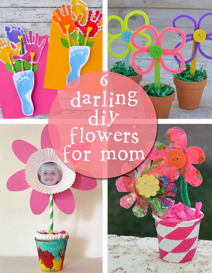 Make Pretty Paper Flowers For Mother S Day Creative Gift Ideas