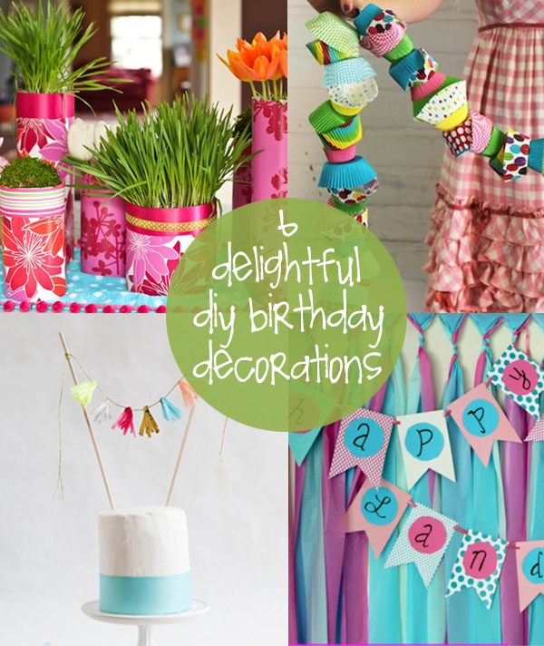 Birthday Decorations To Make Home Design 2017